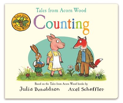 Book cover for Tales from Acorn Wood: Counting
